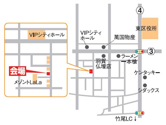 高橋邸地図