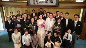英・こよい結婚式