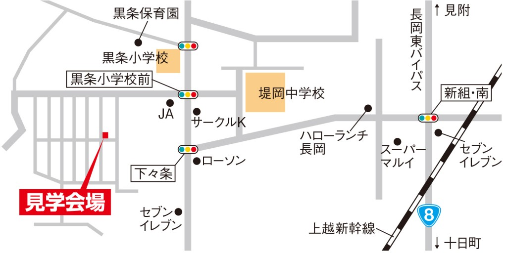 天神町Map